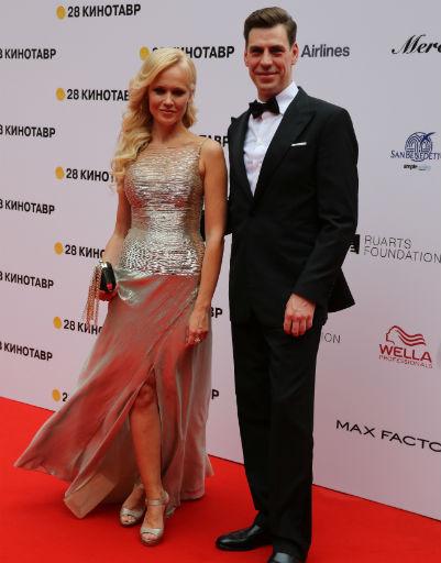 Дмитрий Дюжев с супругой Татьяной