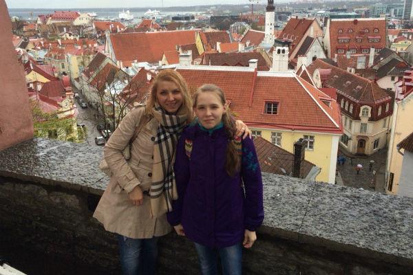 Ирина и Алиса Витальевы часто путешествовали вместе