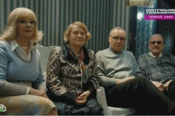 Валентина Талызина на съемках «Ирония судьбы. Продолжение»