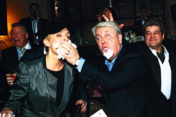 Вайкуле и Винокур отмечают свои дни рождения в «Метрополе», конец 90-х