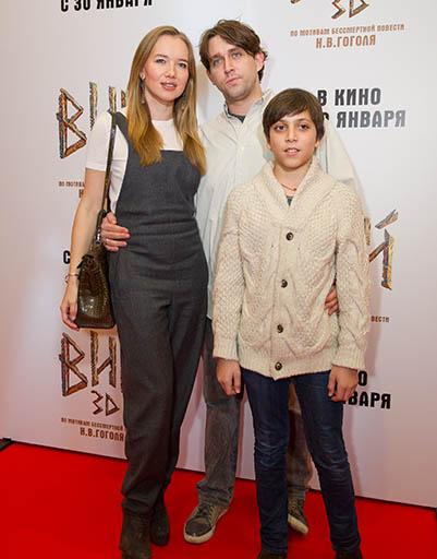 Ида Лоло и Алексей Киселев с сыном