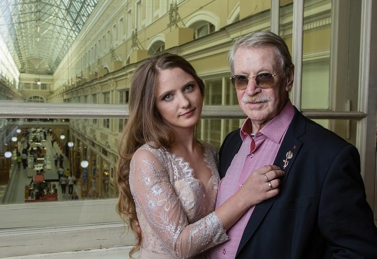 Последняя жена Краско на сегодняшний день - Наталья Шевель.