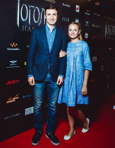 Алексей Лемар с супругой