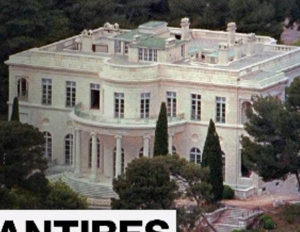 Тот самый особняк на Лазурном берегу, за который олигарх не доплатил налог