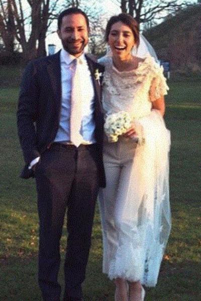 Инга Меладзе с супругом Нори