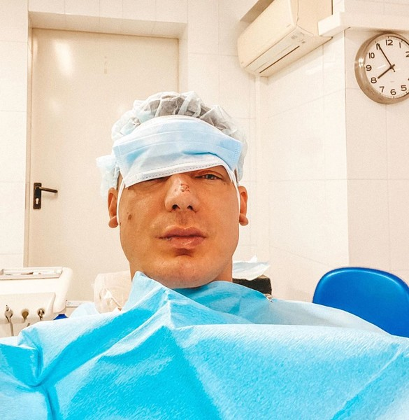 Курбан Омаров получил травму
