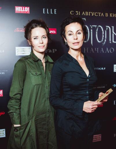 Ирина Апексимова с дочерью Дарьей