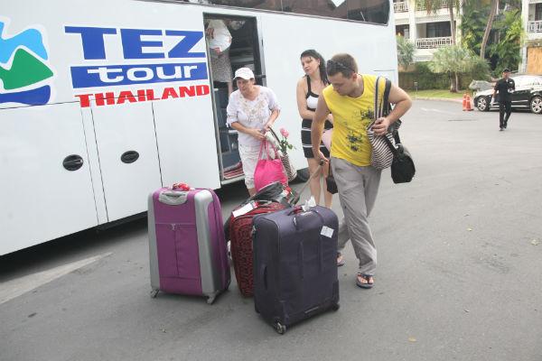 Поездка была организована международным туроператором Tez Tour