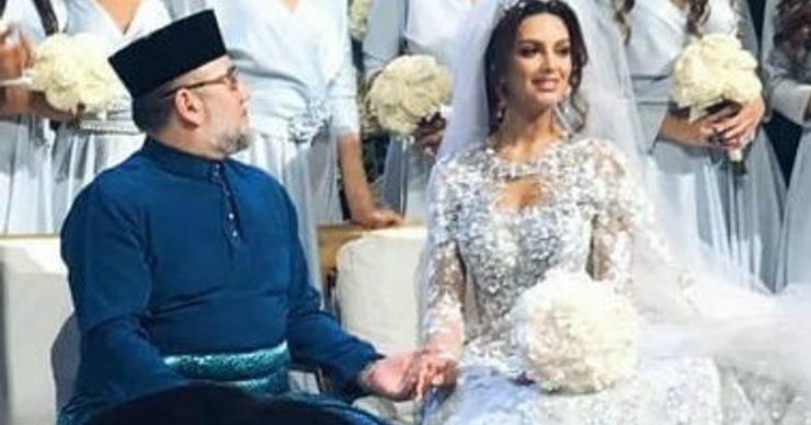 Король Малайзии разводится с «Мисс Москва» после отречения от престола