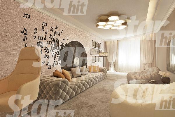Большую часть мебели артистка приобрела в России