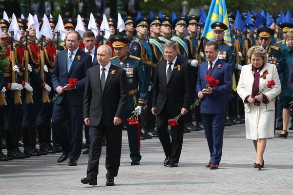 Президент всегда лично принимал участие в параде