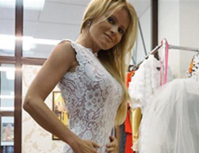 Дана Борисова приоткрыла тайну своего свадебного платья