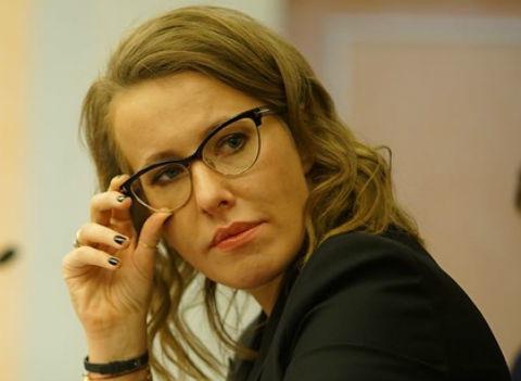 Ксения Собчак боится за жизнь ребенка
