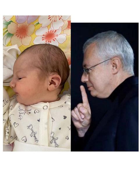 Рынска считает, что дочь очень похожа на папу