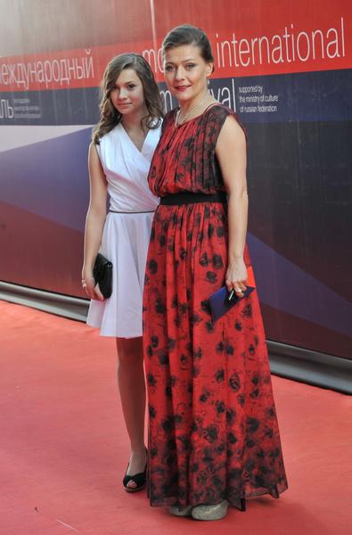 Мария Голубкина с Анастасией