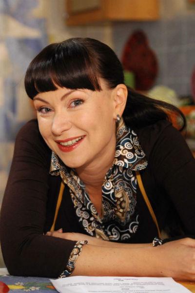 Актриса в роли Людмилы Васнецовой