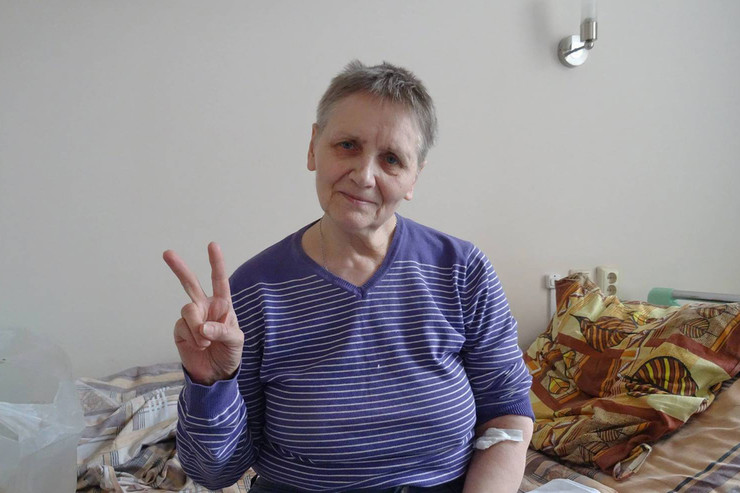 Наталия Кирилова получила контузию второй степени