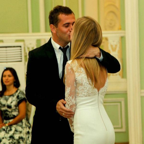 Влюбленные поженились в минувшие выходные