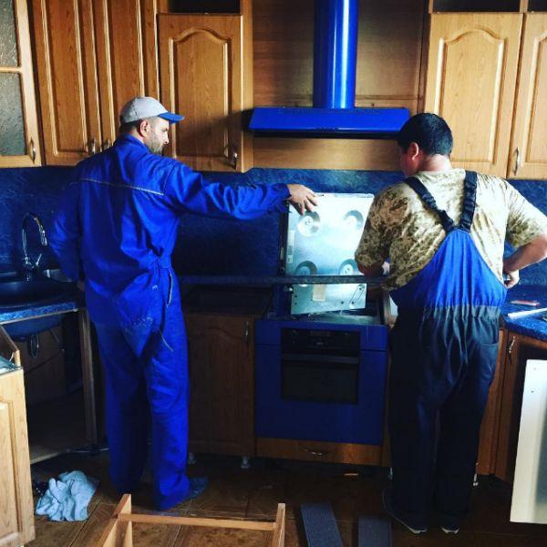 Ирина Александровна начала ремонт на кухне