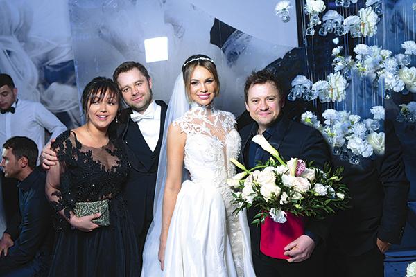 Андрей Гайдулян с женой Дианой много лет дружат с Виталием и Ириной Гогунскими
