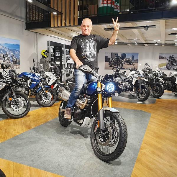 Мотоциклы были большой страстью Сергея