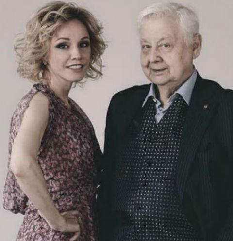 Олег Табаков и Марина Зудина