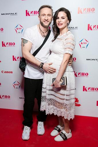 Оскар Кучера с женой