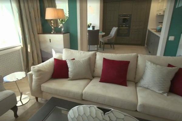 После ремонта в квартире стало много света и белого цвета