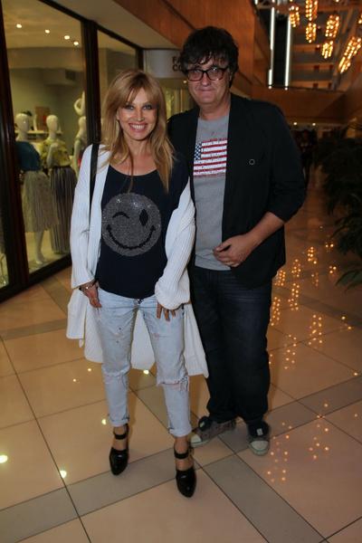 Ирина Нельсон с мужем Вячеславом