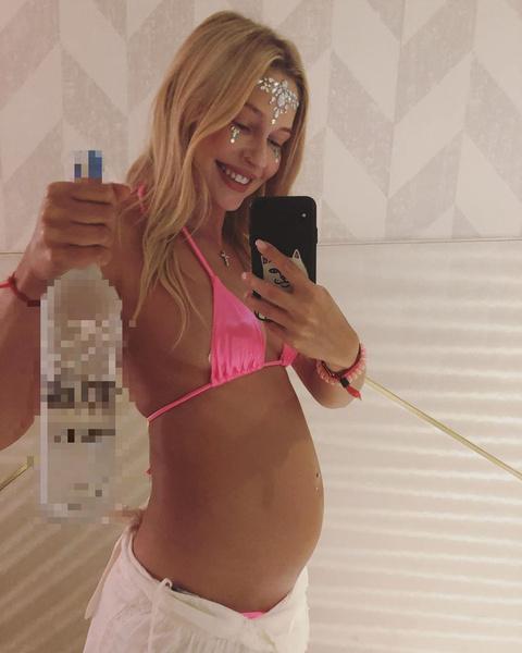 Рудова пошутила о своей беременности