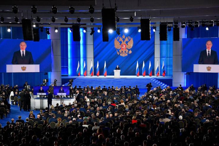 Послание президента Федеральному собранию состоялось 21 апреля