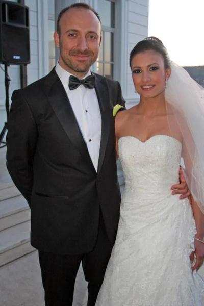Халит с первой супругой Гизем Сойсалды