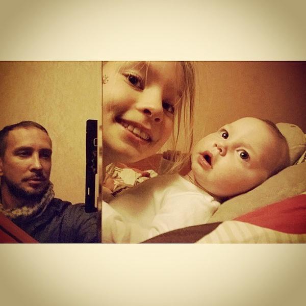 Данко и его дочери - Соня и Агата