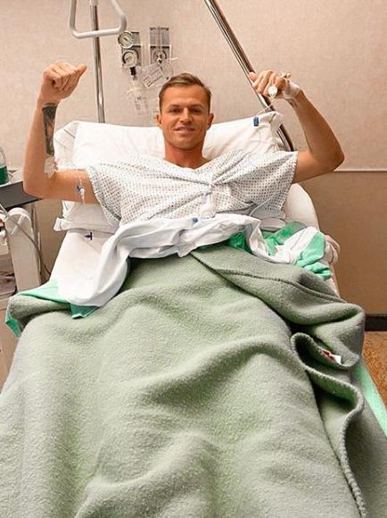 Не успел Дима вернуться в большой спорт, как снова попал на операционный стол