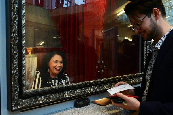 Надежда Георгиевна с удовольствием рассказывала поклонникам о театральных поставновках