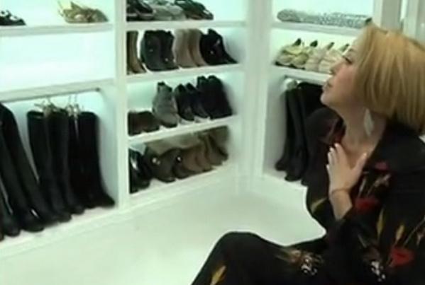 Успенская обожает обувь
