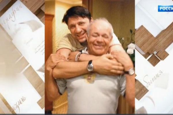 Виктор Логинов с отцом