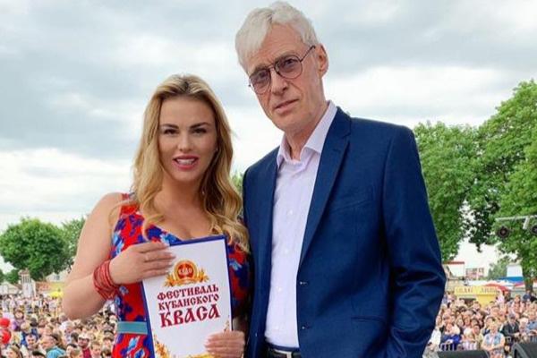 Анна Семенович и Борис Щербаков