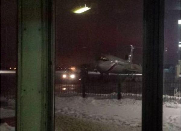 Один из журналистов сфотографировал Ту-154 незадолго до вылета