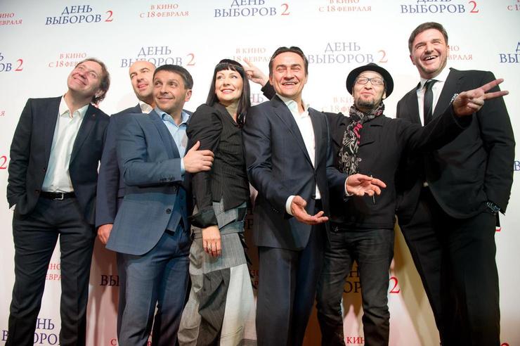 Козырев дружит со многими артистами
