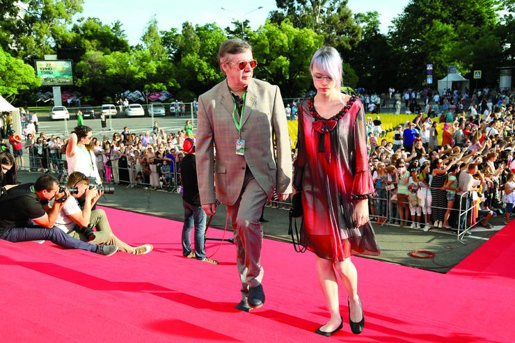 Анну Марию актер как-то даже брал с собой на фестиваль «Кинотавр»