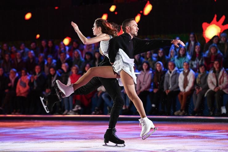 Номер под саундтрек к «Танцующей в темноте» — смелый вызов, который в исполнении этой пары абсолютно оправдан