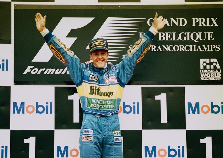 Михаэль Шумахер побил множество рекордов в гонках