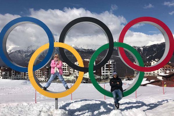 Дарья и Сергей Пынзарь посетили олимпийские объекты