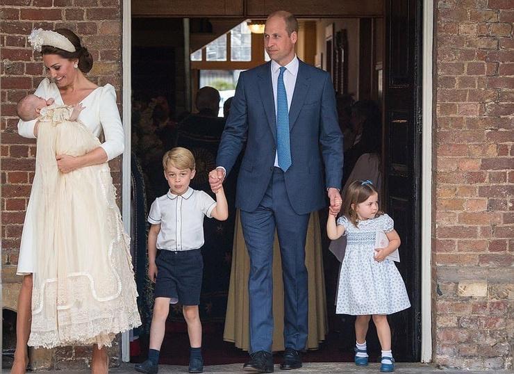 Кейт Миддлтон и принц Уильям буквально светились от счастья рядом с детьми