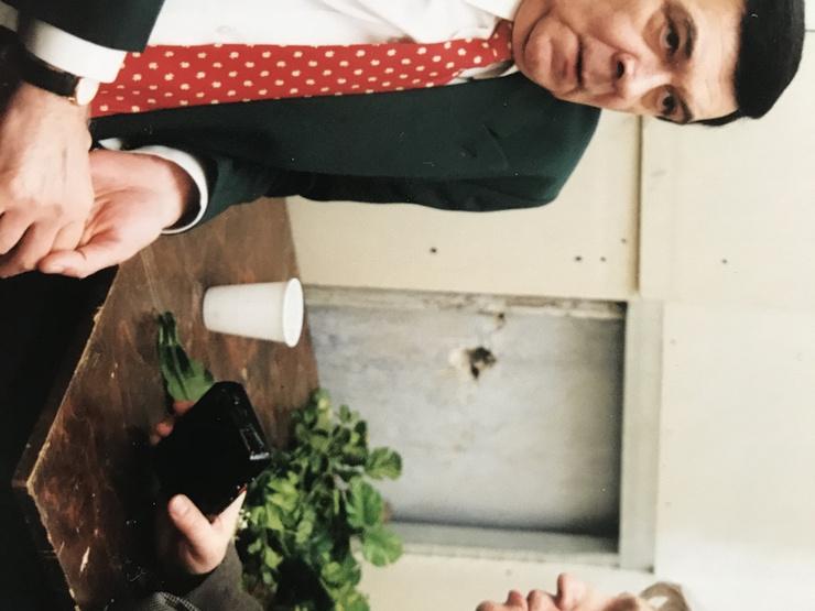 Муслим Магомаев и журналист Михаил Садчиков