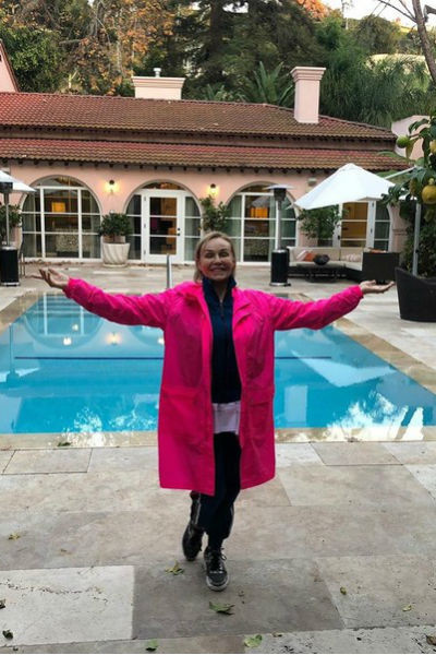 Наталья Андрейченко посетила Лос-Анджелес