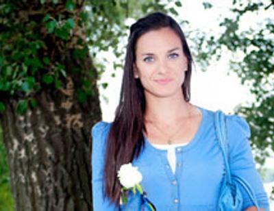 Елена Исинбаева хотела назвать дочь Олимпией или Дельфиной