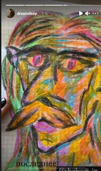 Художник увлекался рисованием