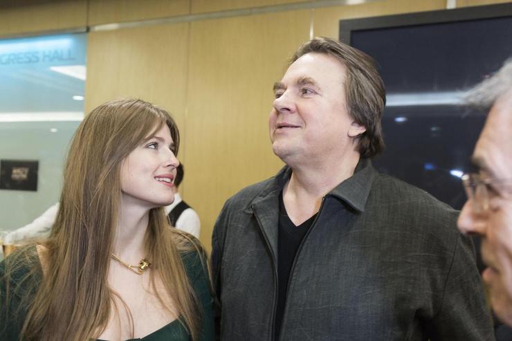 Софья и Константин Эрнст вместе с 2014 года